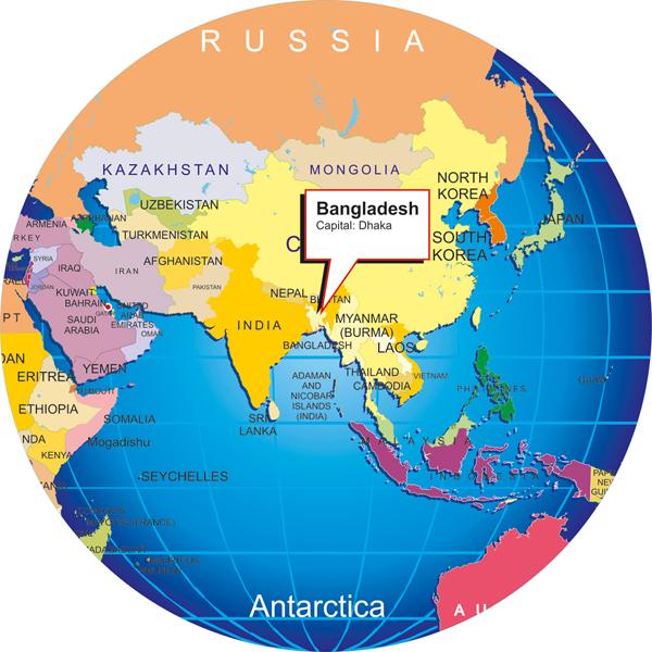 here is Bangladesh big