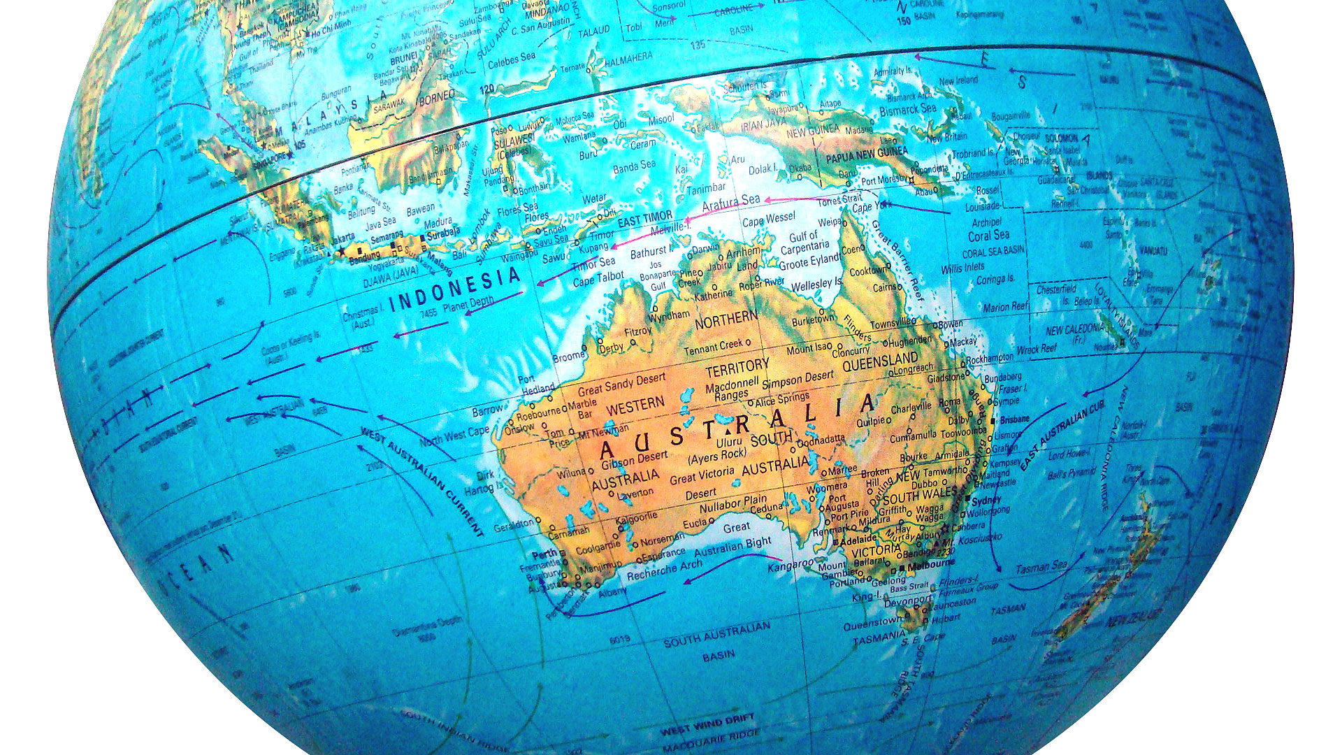 Online Radio FM In Australia Live Radio - Australian map of the world